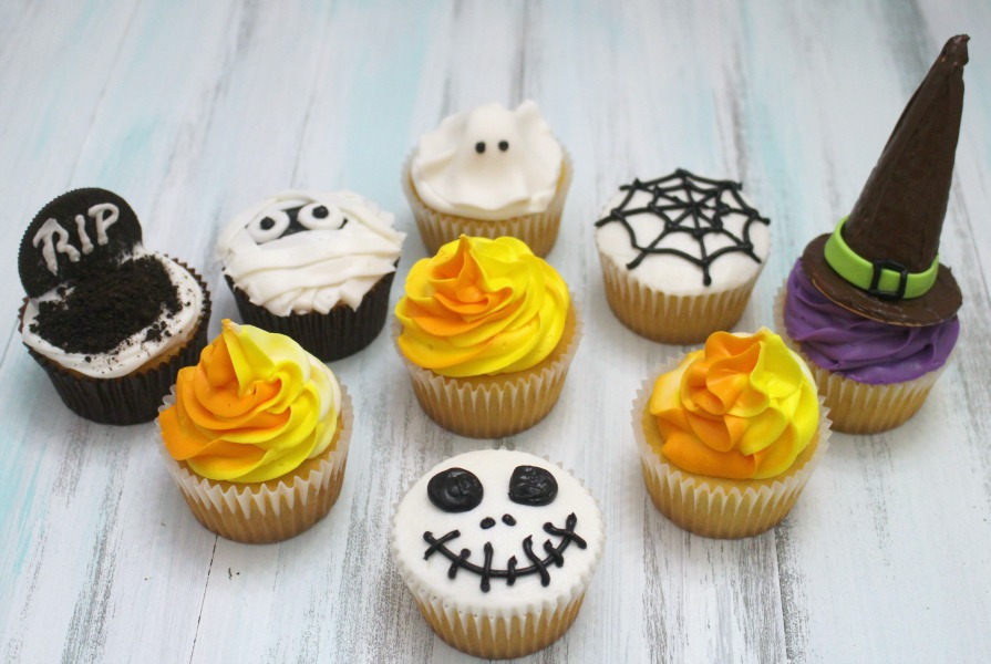 How to make halloween cupcakes for How to make halloween cupcake cakes
