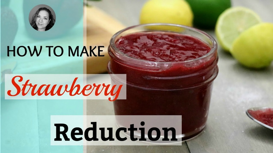 how to make a strawberry reduction strawberry sauce